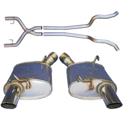 NewTakeOff Dual Exhaust for the V6 Ford Mustang