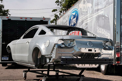 Ford Mustang racing body parts