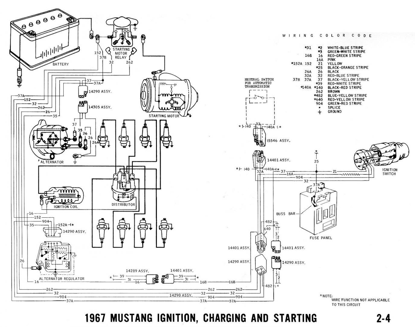 67 ignition switch wiring mustang forums at stangnet 1967 mustang ignition wiring diagram at 67 Mustang Wiring Diagram