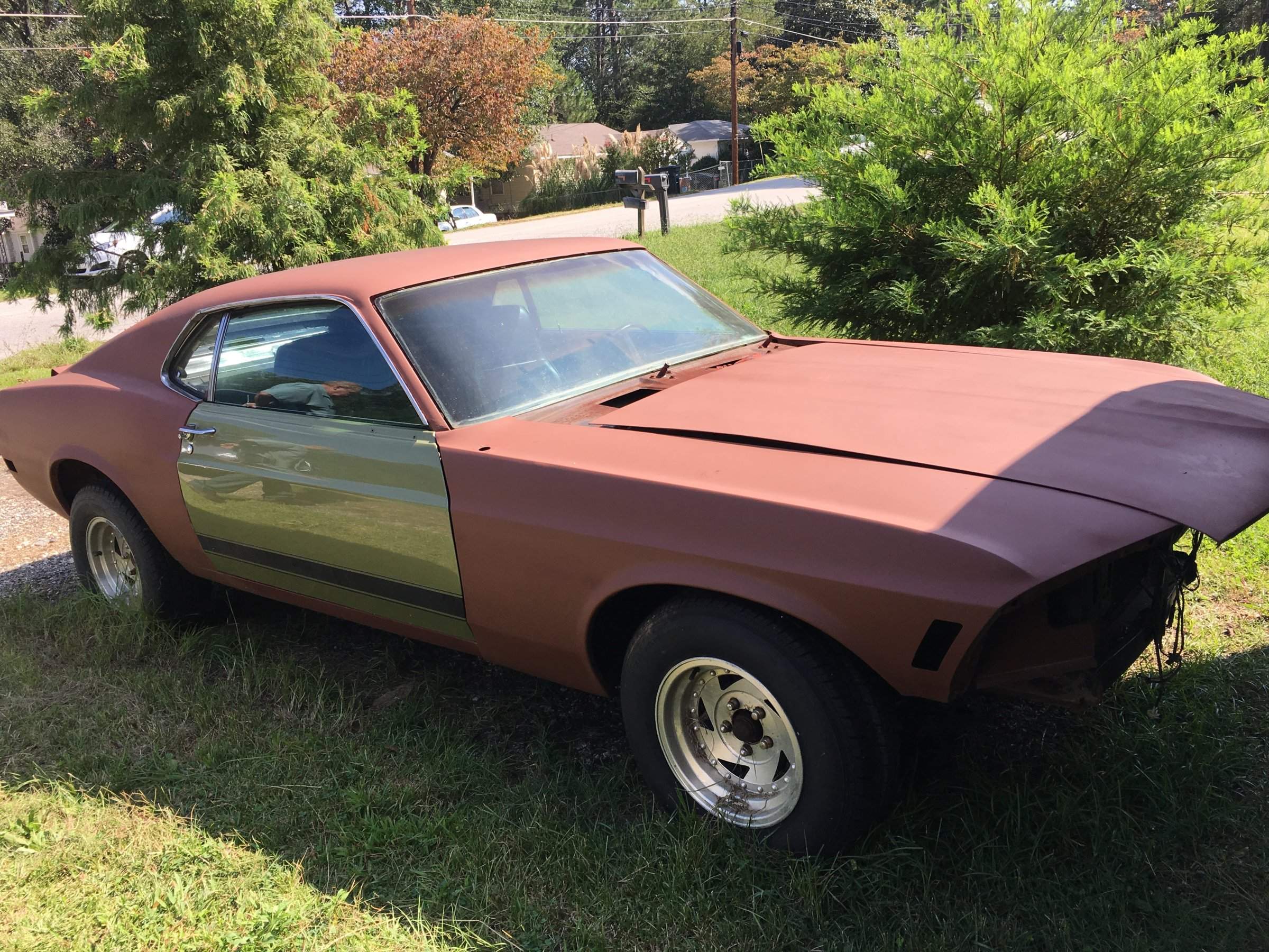 Expired 1970 Ford Fastback Boss Clone Mustang Forums At Stangnet 302 For Sale Car Was Originally A 2bb Automatic This Is