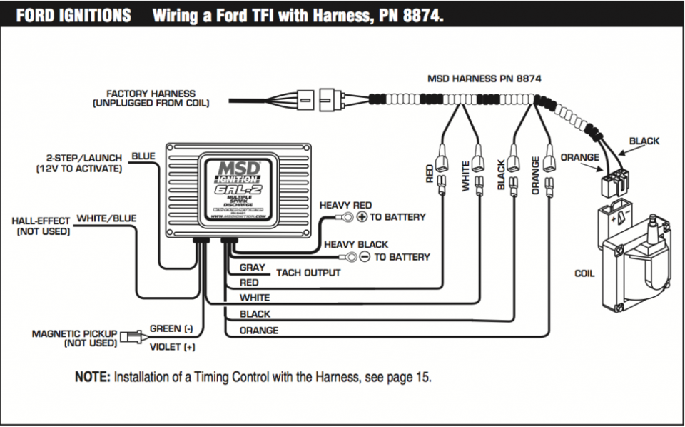 msd 6al2 install question!! mustang forums at stangnet fox body wiring harness diagram at virtualis.co
