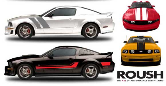 ROUSH stripe kits